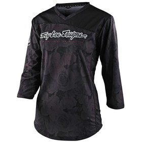 Troy Lee Designs Mischief 3/4 Jersey Dames, floral black